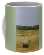 Straw Dries In A Farmers Field Coffee Mug