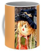 Straw Girl Coffee Mug