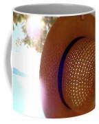 Straw Hat Hanging In Sunny Cottage Coffee Mug