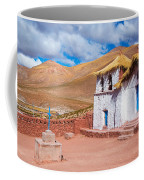 Straw Roof Machuca Church Coffee Mug