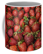 Strawberries -2 Contemporary Oil Painting Coffee Mug