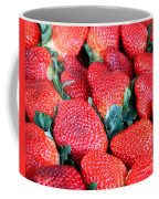 Strawberries 8 X 10 Coffee Mug
