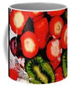 Strawberries And Kiwi Coffee Mug
