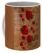 Strawberries And Stone Slab  Coffee Mug