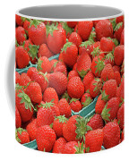 Strawberries Jersey Fresh Coffee Mug