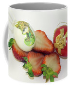 Strawberry And Easter Eggs Coffee Mug