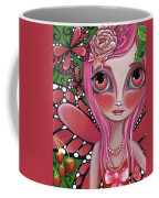 Strawberry Butterfly Fairy Coffee Mug