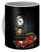 Strawberry Clock Coffee Mug