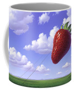 Strawberry Field Coffee Mug by Jerry LoFaro