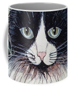 Strawberry Lover Cat Coffee Mug