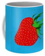 Strawberry Pop Coffee Mug by Oliver Johnston