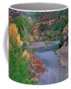 Stream And Fall Color In Central California Coffee Mug