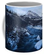Mountain Stream In Twilight Coffee Mug