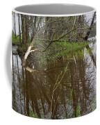Stream Entering Mississippi River Coffee Mug