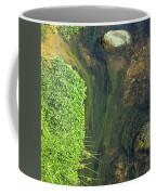 Stream Of Weeds I Coffee Mug