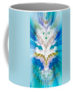 Streams Of Light In Turquoise Coffee Mug