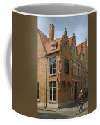 Street Corner In Bruges Belgium Coffee Mug