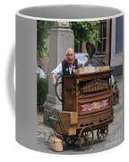Street Entertainer In Bruges Belgium Coffee Mug