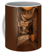 Street In Gothic District Of Barcelona At Night Coffee Mug
