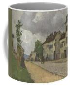 Street In Pontoise Strabe In Pontoise Camille Pissarro Coffee Mug