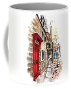 Street In Robin Hoods Bay 01 Coffee Mug