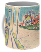 Street In The Bronx Coffee Mug