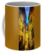 Street In Vernazza - Vintage Version Coffee Mug
