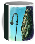 Street Lamp And Fire Escape Coffee Mug
