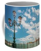 Street Lamp At Venice, Italy Coffee Mug