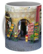 Street Market, Prague Coffee Mug