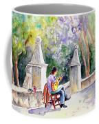 Street Musician In Pollenca Coffee Mug