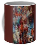 Street Of Nepal Colored  Coffee Mug