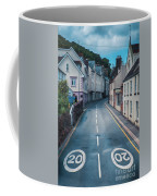 Street Of Summer Countryside Coffee Mug by Ariadna De Raadt