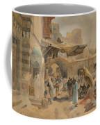 Street Scene In Jaffa Coffee Mug