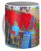 Street Scene In Old Nuremberg,germany  Coffee Mug