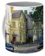 Street Scene In Strangnas Coffee Mug