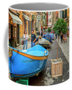 Street Scene Manarola Italy Dsc02634 Coffee Mug