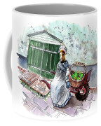 Street Seller In Helsingor Coffee Mug