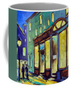 Streets At Night Coffee Mug