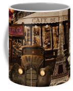Streets Of Paris Coffee Mug