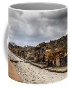 Streets Of Pompeii Coffee Mug