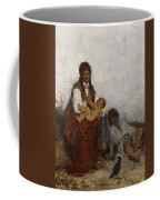 Streitt, Franciszek 1839 Brody - 1890  Rest On The Field. 1875. Coffee Mug
