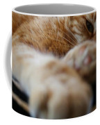 Stretching Cat Coffee Mug