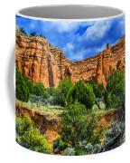 Striated Mountains Coffee Mug