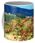 Striking Autumn Red Coffee Mug