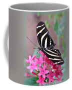 Striped Beauty - Butterfly Coffee Mug