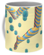 Striped Stockings Coffee Mug