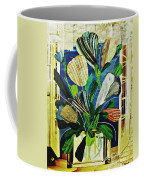 Striped Tulips At The Old Apartment Coffee Mug