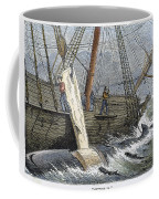 Stripping Whale Blubber Coffee Mug by Granger