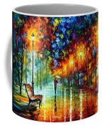 Stroll In The Fog Coffee Mug